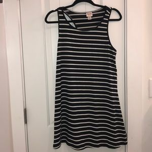 Mossimo Striped Racerback Dress